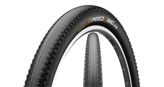 "Continental Speed King Dæk 27.5"" x 2.2"" RaceSport, foldbar sort"